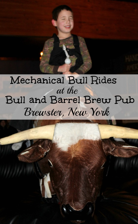Mechanical Bull Rides at the Bull and Barrel Brew Pub in Brewster NY