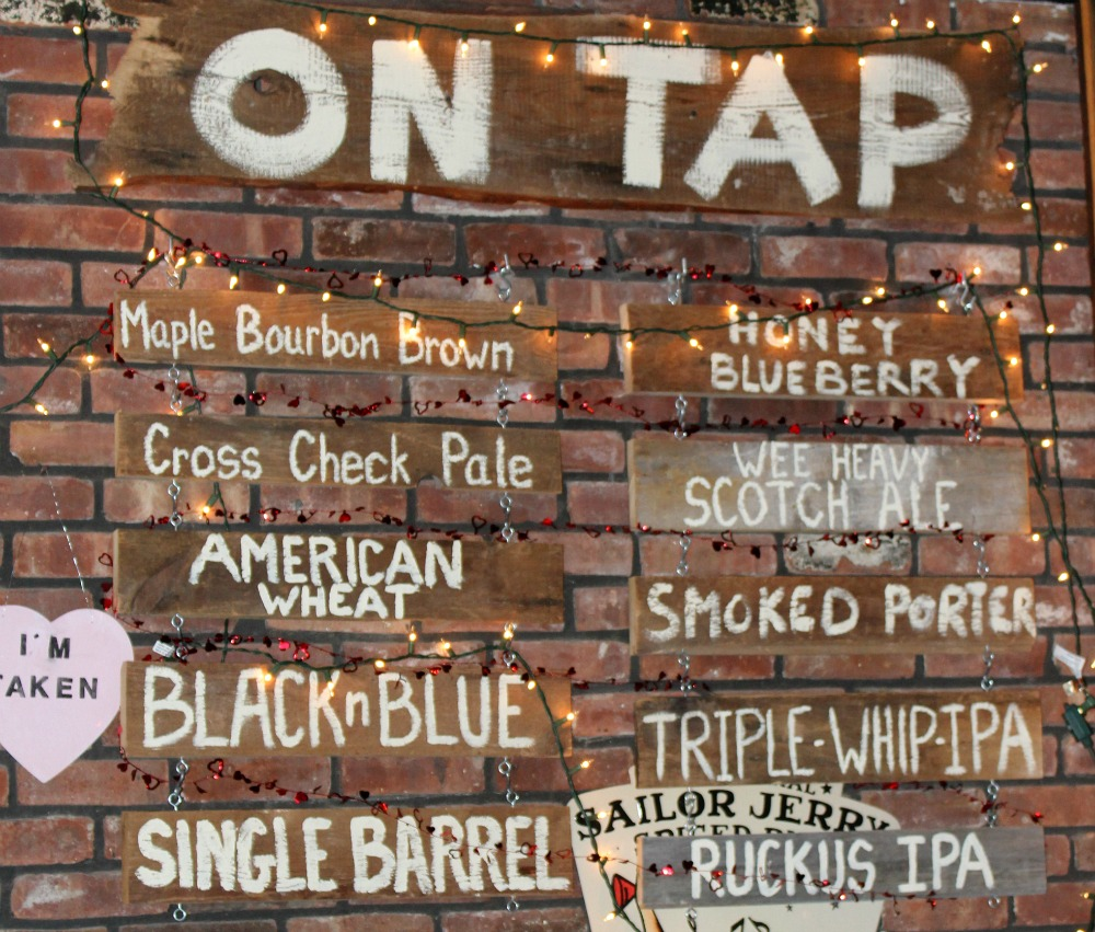 What's on tap at the Bull and Barrel Brewery