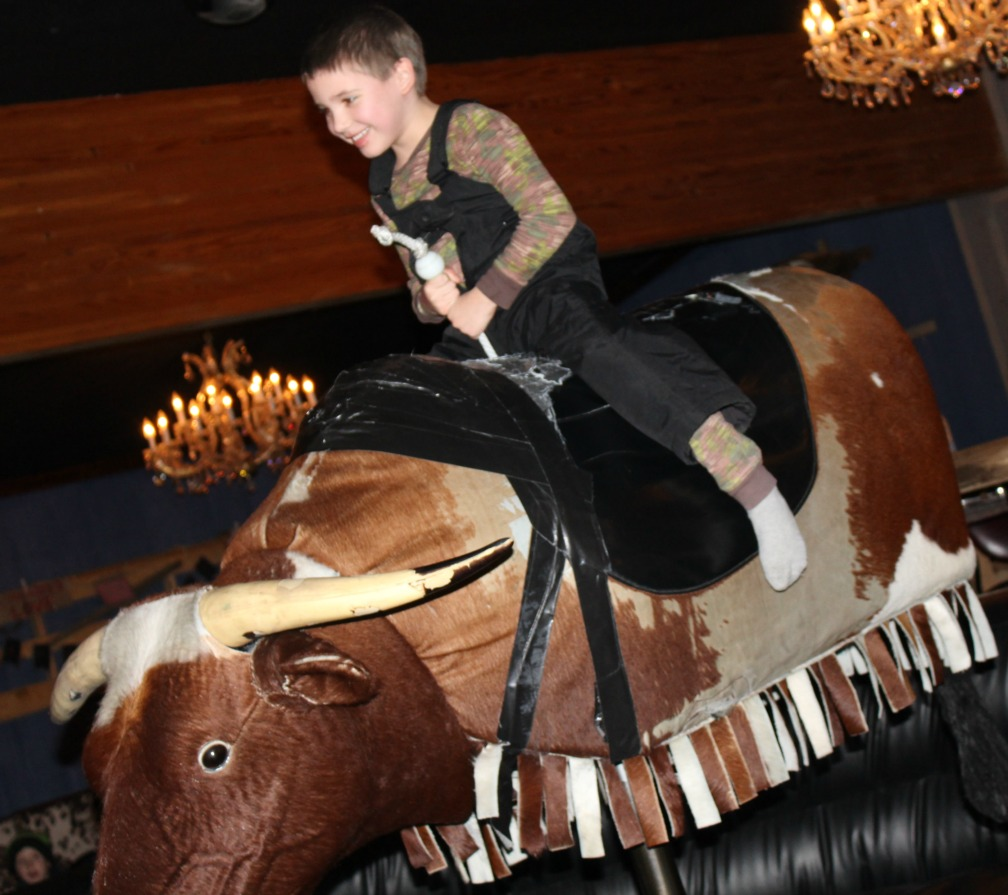 mechanical bull rides are fun for all ages