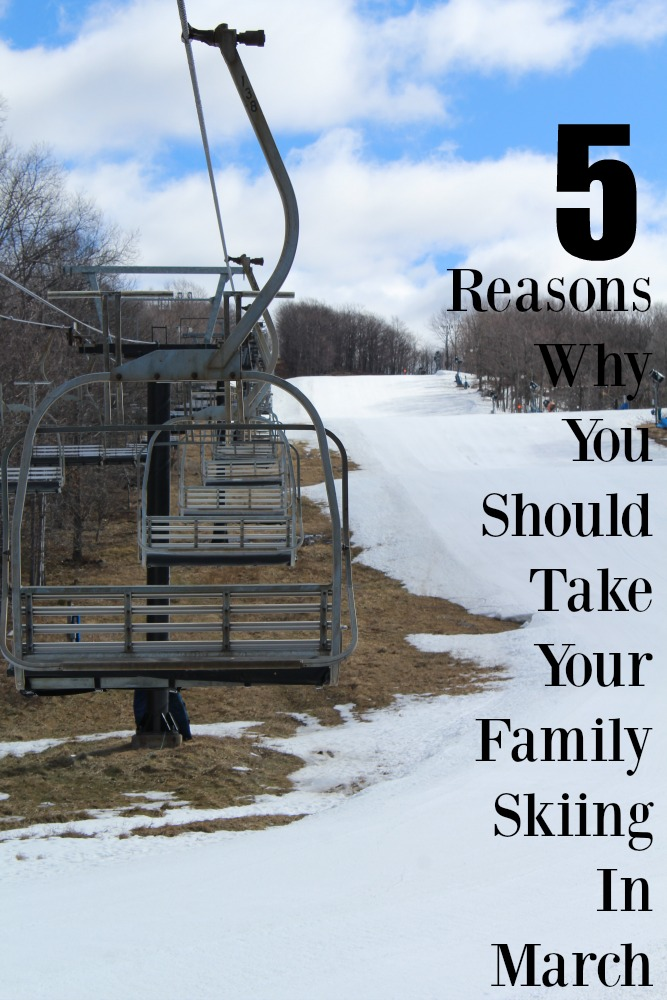 Believe it or not, March is a perfect time to ski. Learn 5 reasons why you should take your family skiing in March