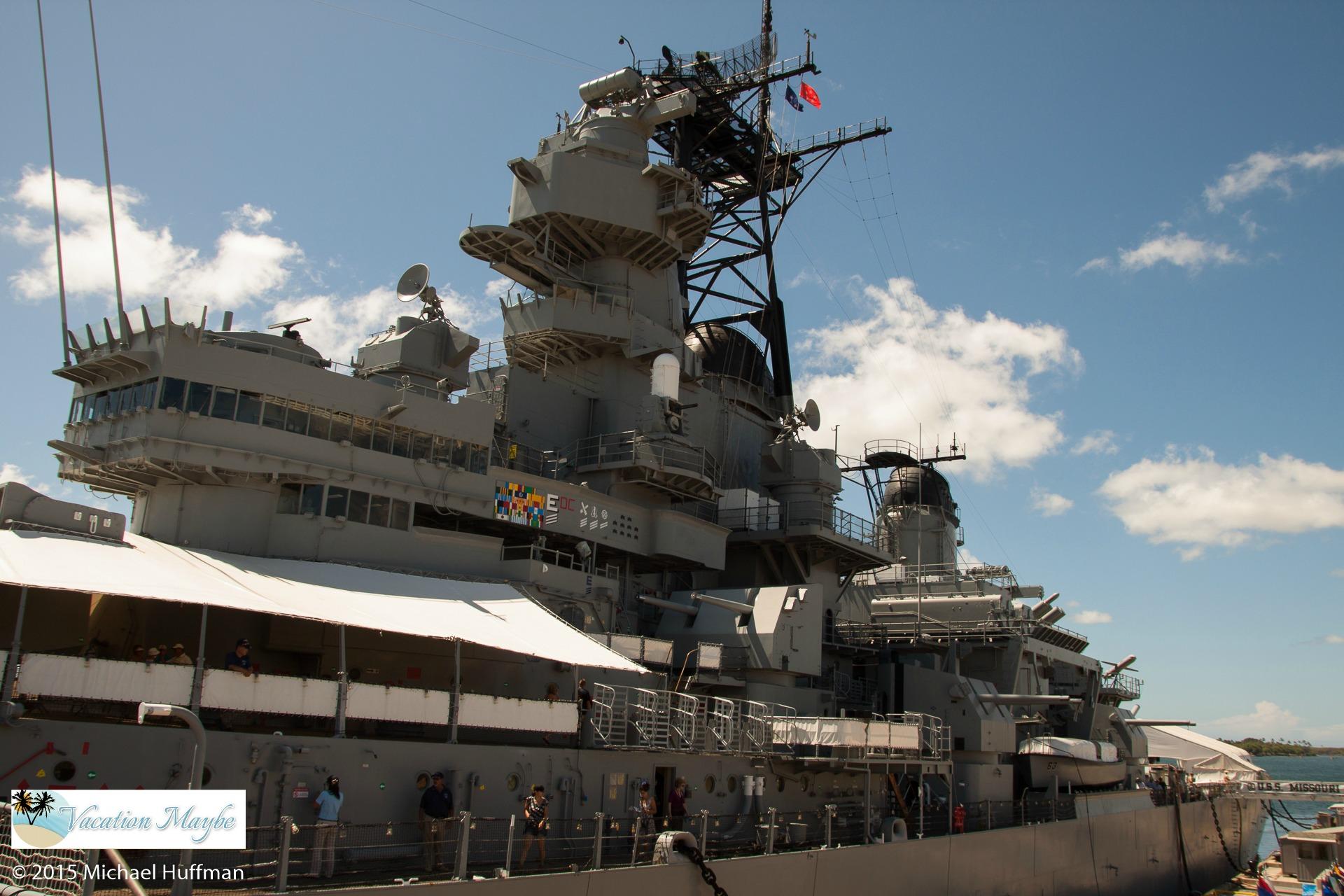 Pearl Harbor Tours >> Battleship USS Missouri Memorial - vacationmaybe.com
