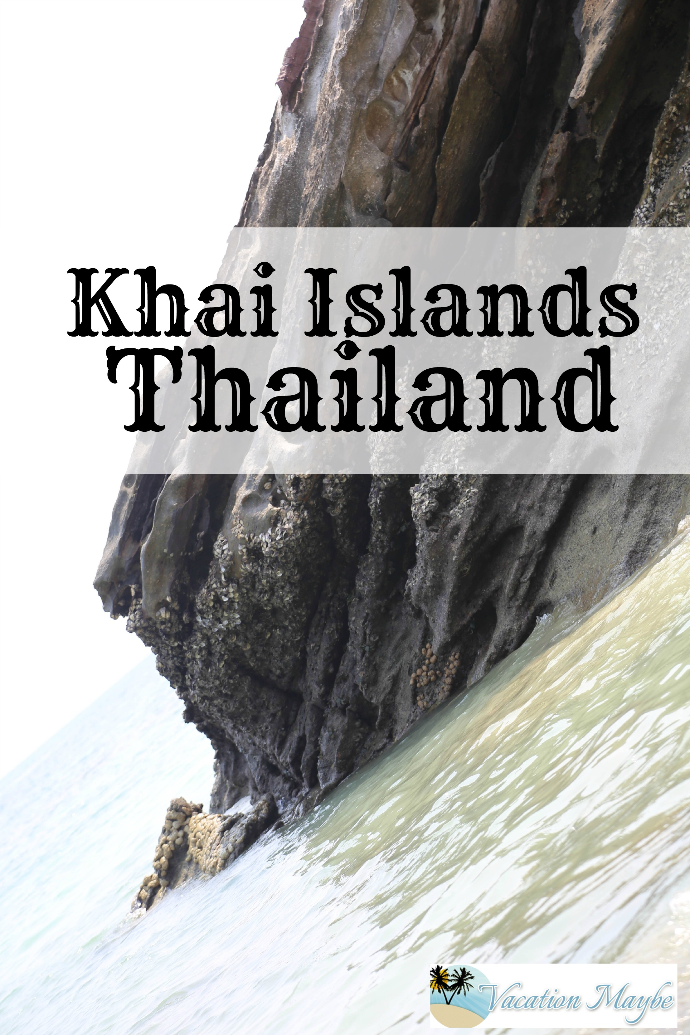 Visit the Khai Islands Thailand