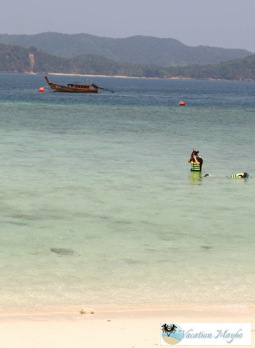 Snorkeling in the Thailand's Khai Islands