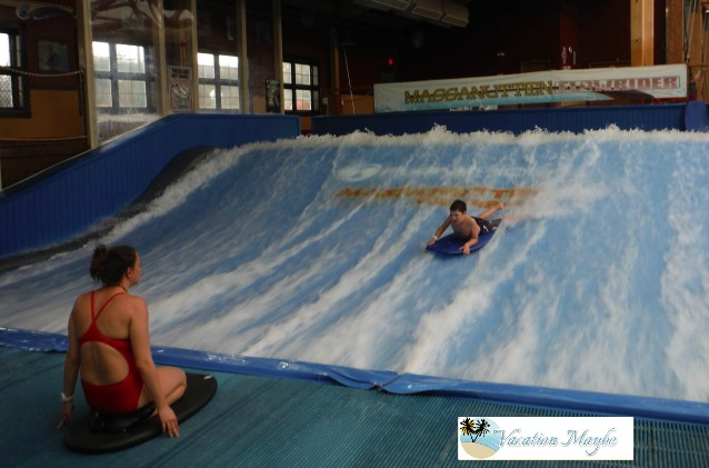 The Pipeline FlowRider at Massanutten waterparks in VA