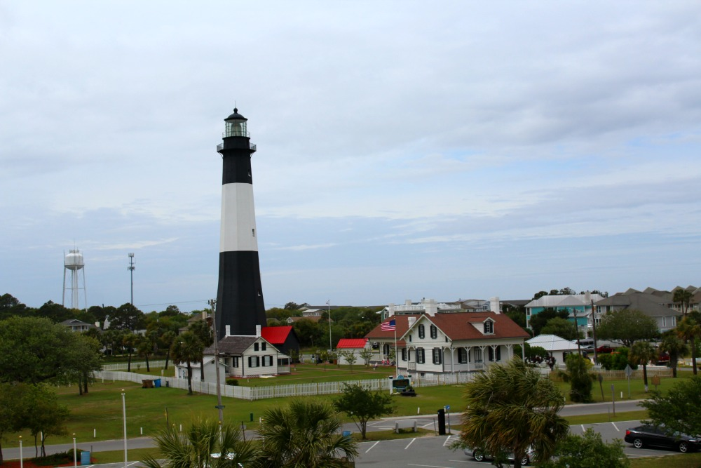 View from the top of the battery museum
