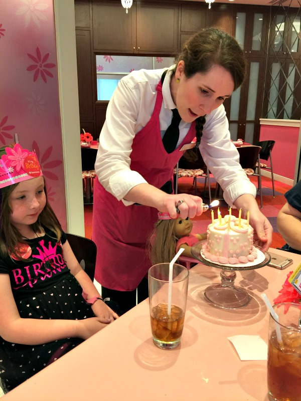 american girl birthday celebration
