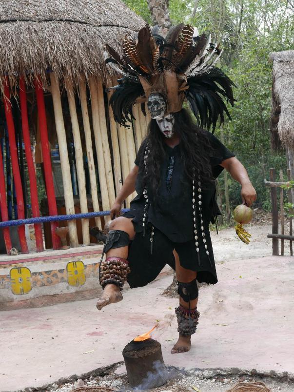 Cozumel Mexico Mayan Village