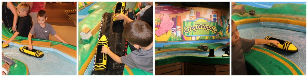Crayola Experience at the Crayola Factory Water Works