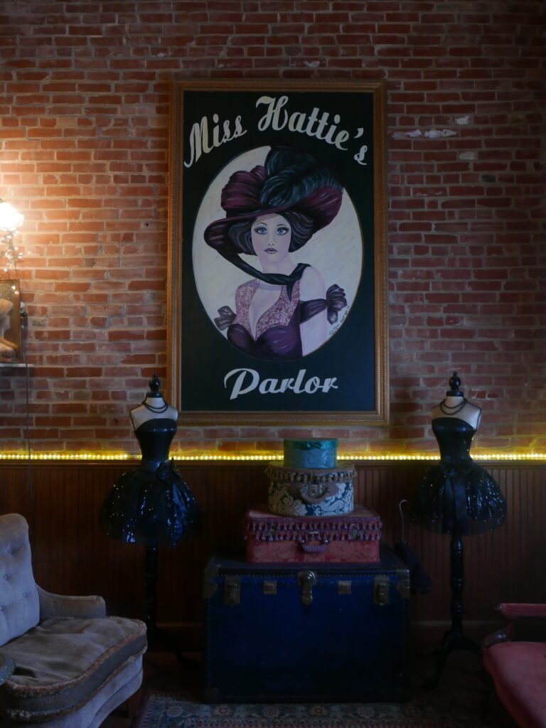 Miss Hattie's Bordello is a unique place to stay in San Angelo Texas