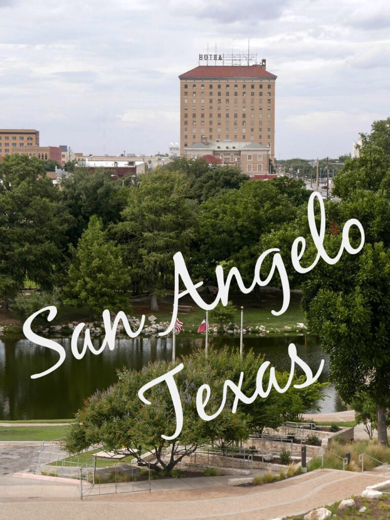 San Angelo Texas is a charming town full of delightful things to see and eat