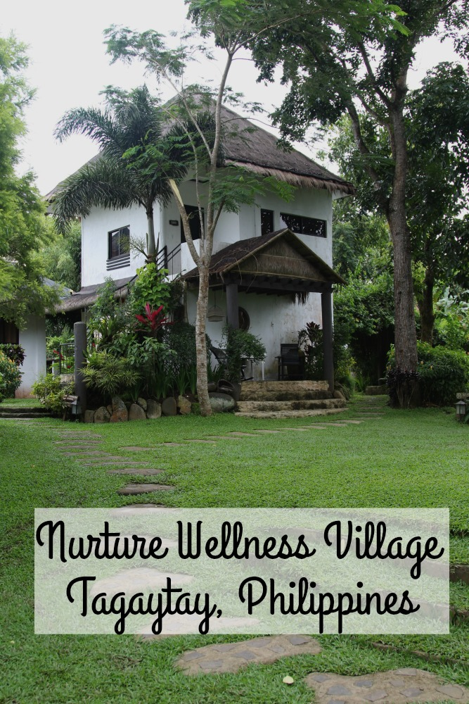 Guests at the Nurture Wellness Village in the Philippines can enjoy the lush gardens, Filipino pampering, and fresh farm to table foods