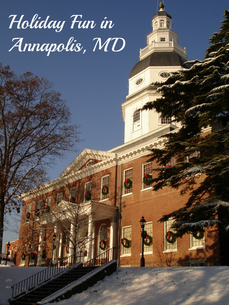 Holiday fun abounds at the many seasonal events in Annapolis Maryland
