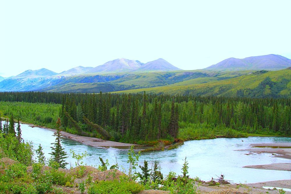 The beauty of Alaska is unsurpassed