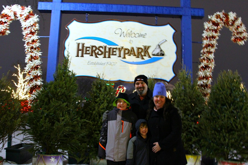 Merry Christmas from Hersheypark Christmas Candylane