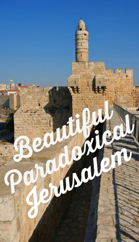 I hope you will be inspired to visit beautiful paradoxical Jerusalem