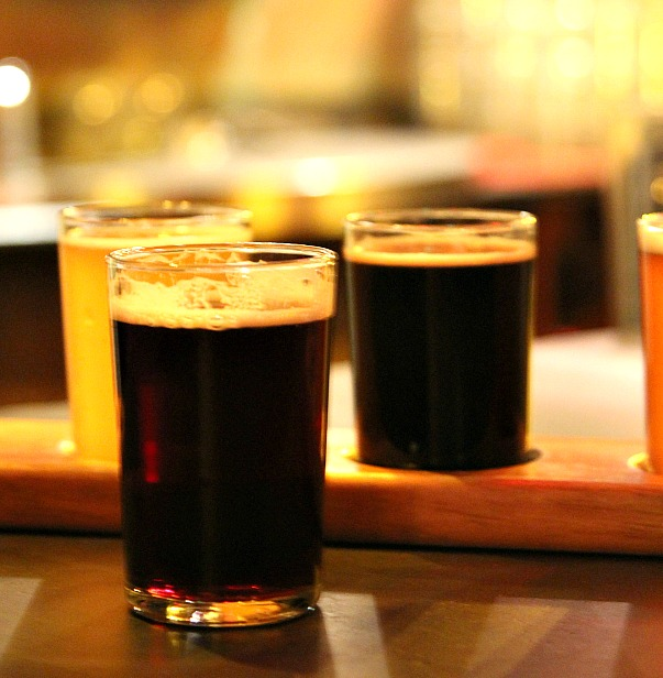 Small batch beers are brewed on site at Bube's Brewery in Mount Joy PA