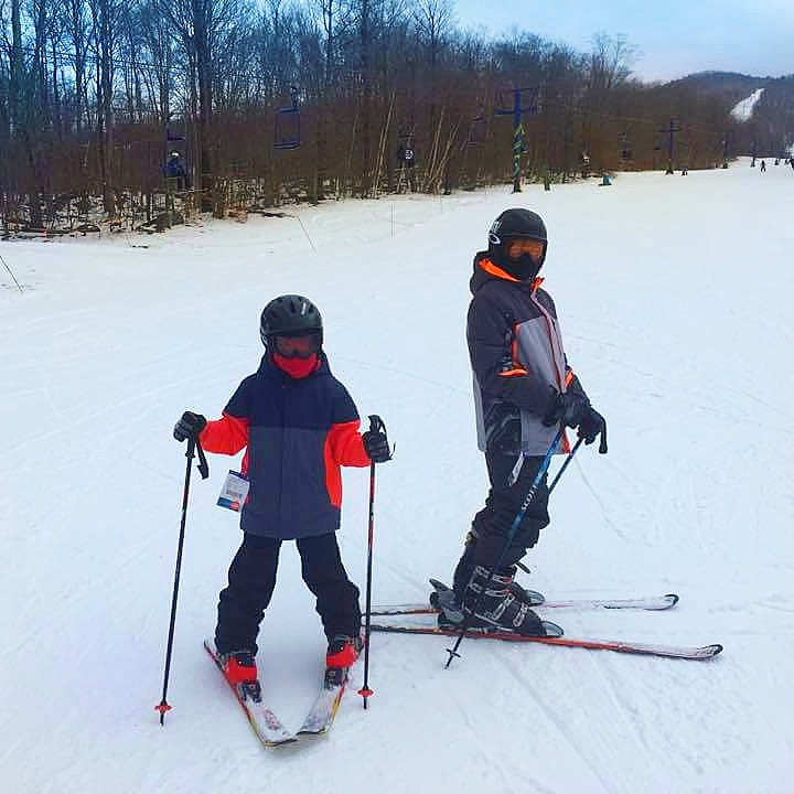 My fellas really enjoyed skiing at Smugglers Notch. This is one of our new favorite ski mountains