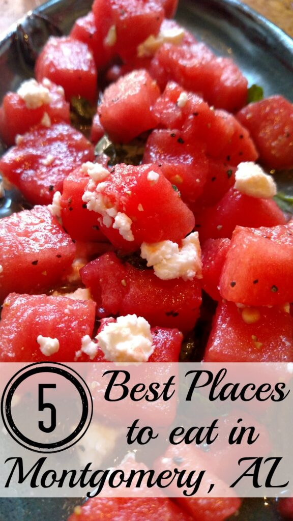 5 best places to eat in Montgomery AL