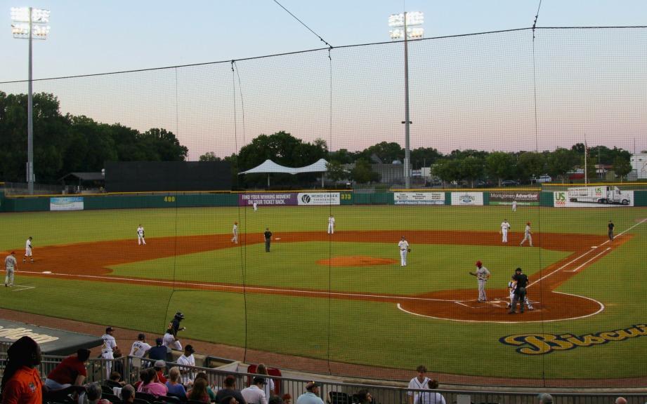 The Riverwalk Stadium is home to the Montgomery Biscuits