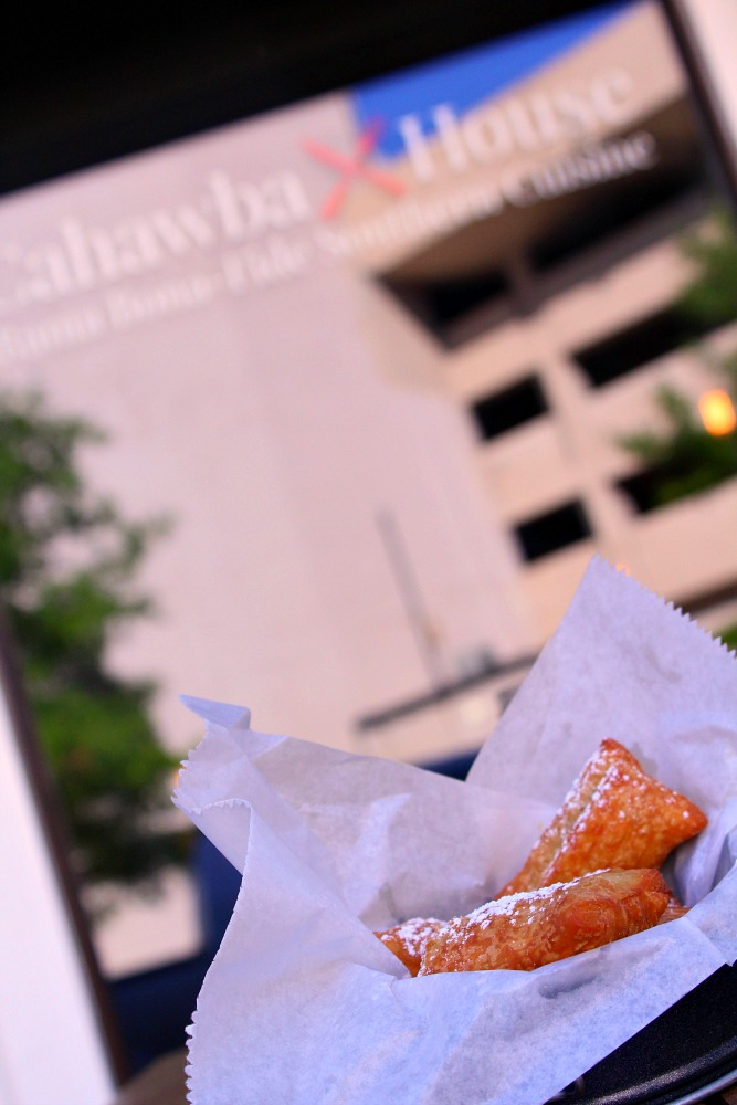 The beignets at Cahawba House land it solidly on my list of best places to eat in Montgomery AL