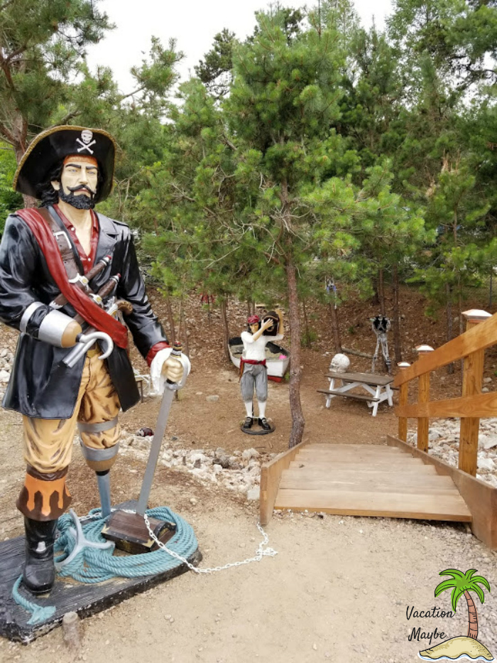 Have fun with kids at Rhode Island and make sure to visit the pirate's play land.