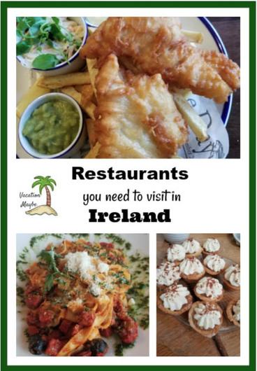 Places to eat in Ireland