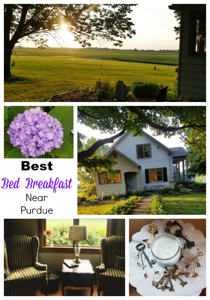Bed and breakfast near purdue