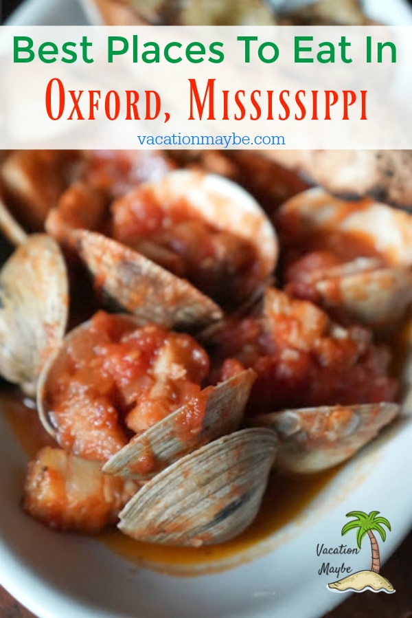 Places to Eat in Oxford MS