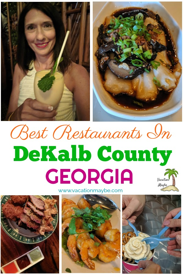 During my recent trip to DeKalb County in Georgia I discovered the best restaurants that you shouldn't miss out. From cocktail drinks, to Korean dishes and even desserts to satisfy your sweet tooth.