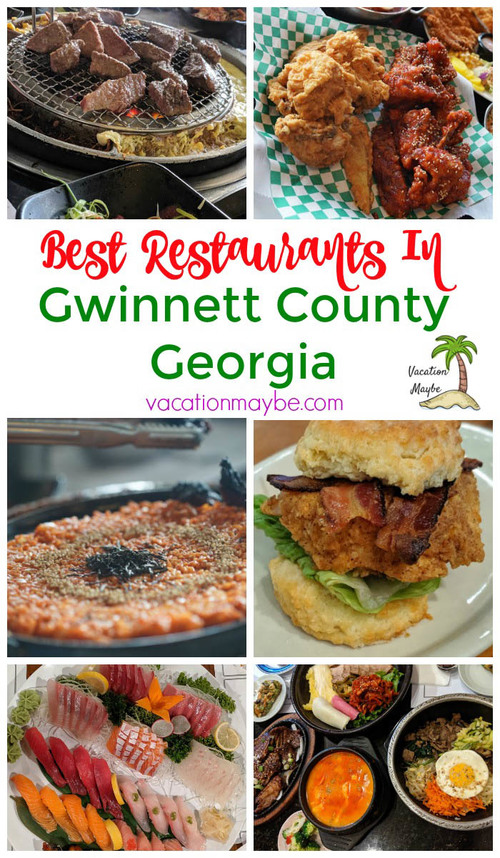 See the Best Restaurants in Gwinnett County Georgia that we've tried. The best place to get authentic Korean food in Georgia.